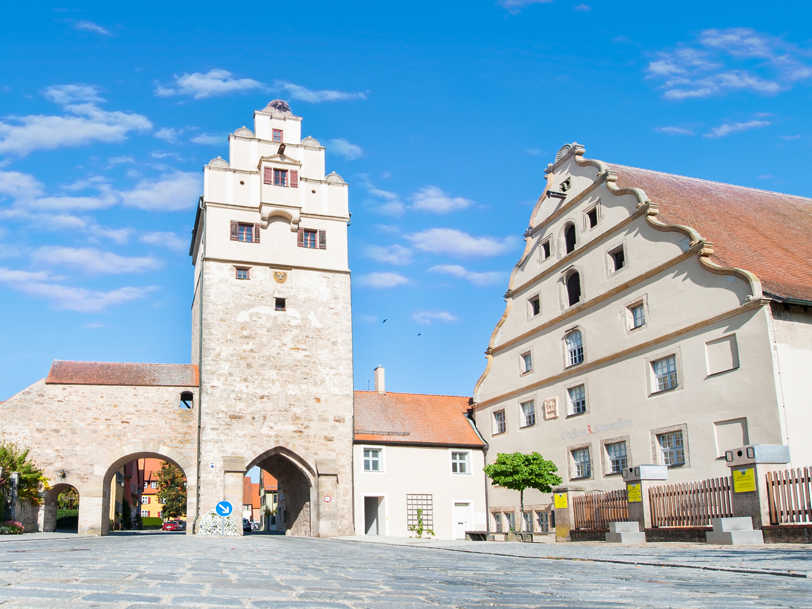 Nördlingen Gate and Town Mill